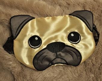 Pug Face Sleep Mask