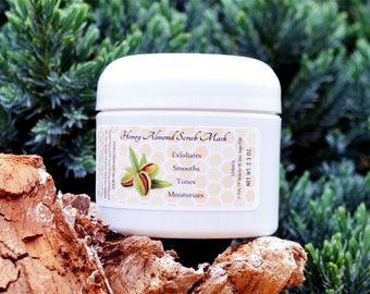 Honey Almond Scrub Mask