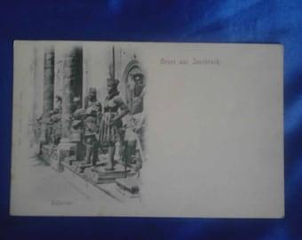 Vintage German 1900's Postcard, Hofkirche, Innsbruck, Unused