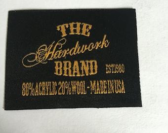 150  free shipping custom clothing tags, custom cloth label, cloth tags, woven tags