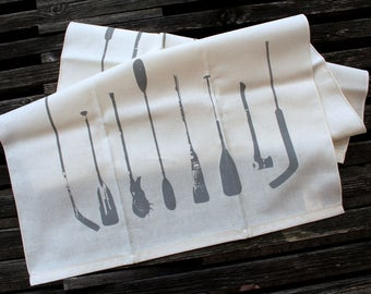 Canadian Sticks Tea Towel