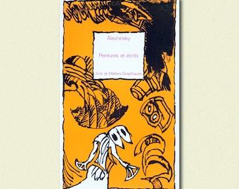 Pierre Alechinsky Reproduction Print - Fine Art Print Retro Wall Decor Home Decor Design Expressionism   bpt