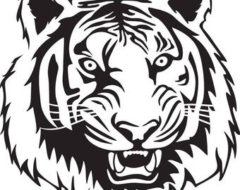 TIGER PRIDE SVG