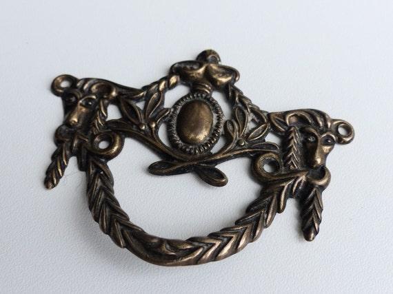 antique brass dresser pull victorian drawer pull knob vintage drawer dresser handle art nouveau drawer pulls cabinet knobs drawer knobs from