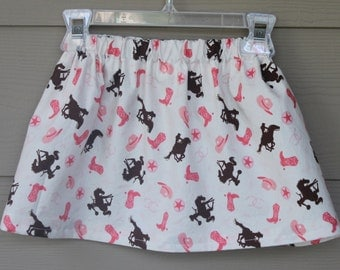 Cowgirl Skirt, Western Skirt, Girls Skirts, Baby girl skirt, toddler girl skirt, little girls skirt - Cowgirl Outfit