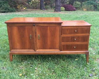 lane cedar chest with drawers lane hope chest mid century - Hope Chests