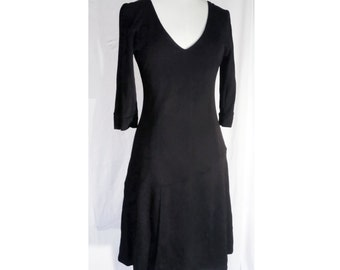 Glamorous black dress minimal stretch