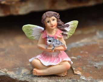 Tiny Fairy Bella for Miniature Garden, Fairy Garden
