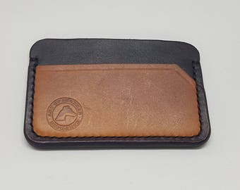 Thin leather wallet, thin small leather minimalist wallet, slim minimalist wallet, small wallet, men's leather wallet, card wallet,