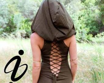 Nienna Hooded Top - extra big hood