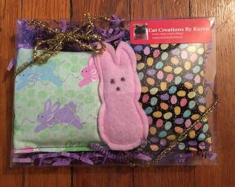 Easter catnip toy set