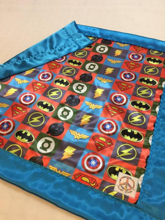 Custom listing 40x50 Super hero silky blanket