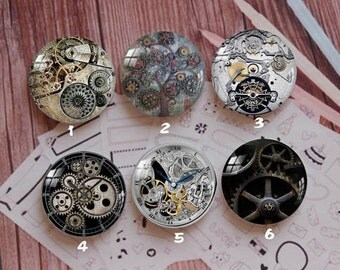 Handmade Round Photo glass Cabochons,8mm -58mm size Cute Animal Style Butterfly More-ZY884