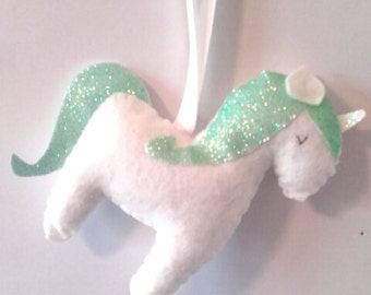 Unicorn Hanging Decoration Unicorn Decorations Girls Bedroom Decor Unicorn Gifts Unicorn Door
