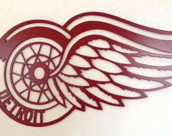 Detroit Red Wings Metal Wall Art