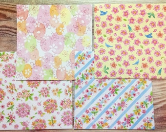 Cherry Blossom Design Paper from Japan