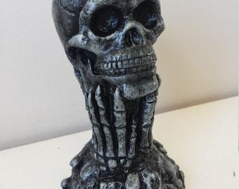 Handmade skull and Bone Gothic Ornament