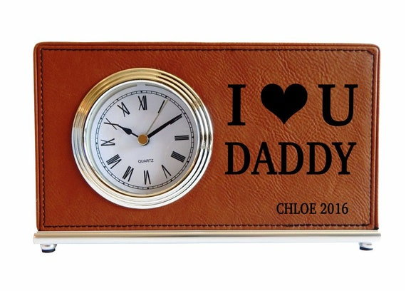 #HANDMADE Personalized Dad Clock, Father's Day Gift, Gift ...