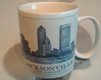 Starbucks Jacksonville 18 oz Coffee Mug