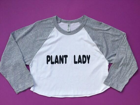 PLANT LADY CROPTOP