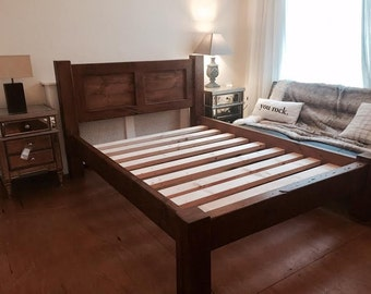 Rustic Bed Wooden- The Rustic Bed