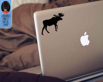 Moose Macbook / Laptop Vinyl Decal