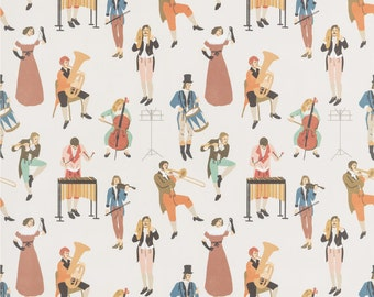 Spring Orchestra wrapping paper