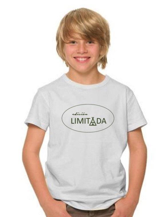 Boy t-shirt EDICION LIMITADA