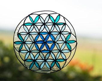 Flower Of Life, Mandala Window  Suncatcher, Flower Of Life Decal