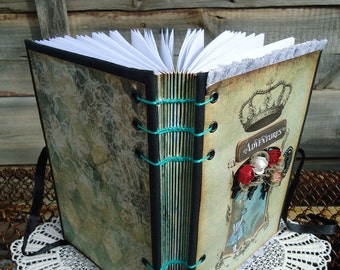 Alice's adventures in wonderland Handmade book
