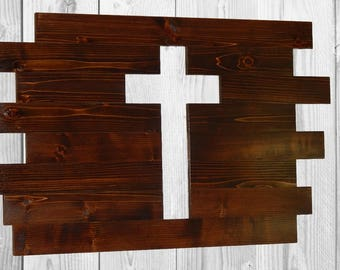 Rustic Sign, Wood Sign, Wood Cross, Large Board Sign, Barn Wood sign, Rustic Home Decor, Reclaimed Wood Sign, Rustic Decor, Custom Sign