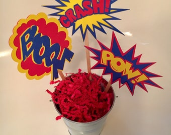 Super Hero Table Centerpiece Set