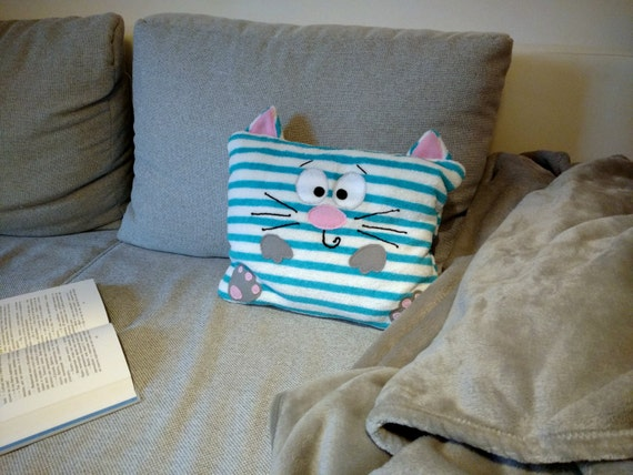 Cute Tumblr Pillows Etsy : Christmas gift Cuddly cat pillow cute pillow pillow baby