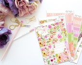 You are Free -- Vertical Weekly Kit-- Matte Planner Stickers