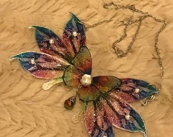 Ooak great Fairy Queen necklace