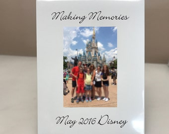PERSONALIZED! Making Memories Picture Frame