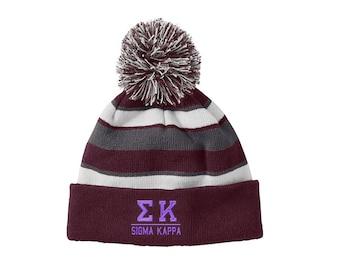 Sigma Kappa Greek Comeback Beanie