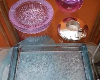 Joe Colombo ashtray Arnolfo Di Cambio lot of 3 alessandrite biglia Made in Italy 1970s