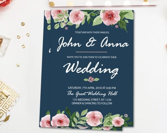 Etsy Wedding Invitation for awesome invitations template