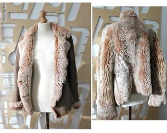 Shearling jacket | Etsy
