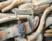 Arrowhead Arrow Head Bow & Arrow Bows and Arrows Artemis Diana Hunting Earring Earrings Drops Drop Dangle Dangles Pagan Wiccan Wicca Witch