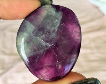 Purple/Green Fluorite Perfect for Healing Chakras, Meditation