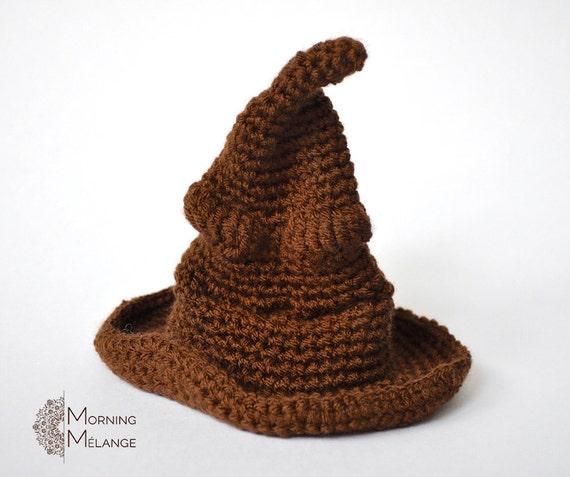 Sorting Hat Amigurumi Sorting Hat Crochet Collectible Harry