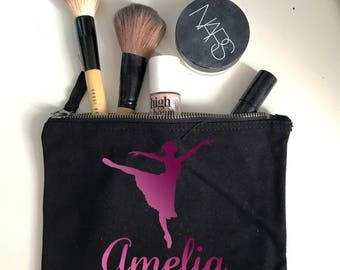 Personalised Dancer Make Up Bag