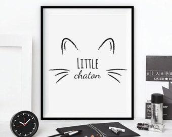 """Table """"little kitten"""""""