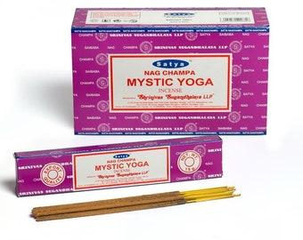 SATYA MYSTIC YOGA Incense