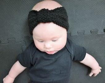 Hand Knit Baby Headband