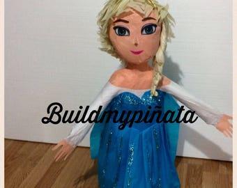"""Elsa piñata, 32 """"tall, simple"""