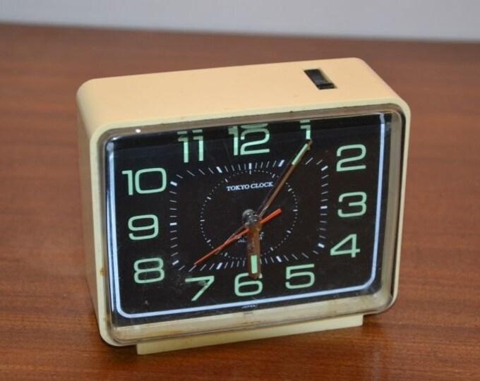 Vintage seventies Tokyo alarm clock