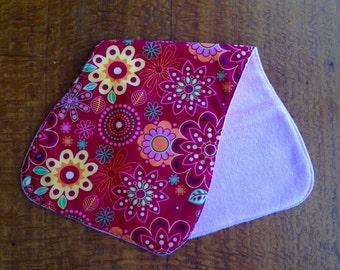 Burp Cloth - Flower Power
